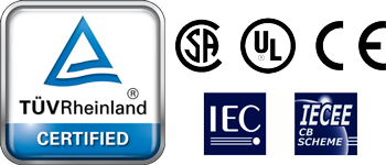 TUV UL and CSA certification