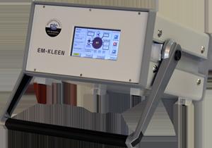 Portable controller for remote plasma source